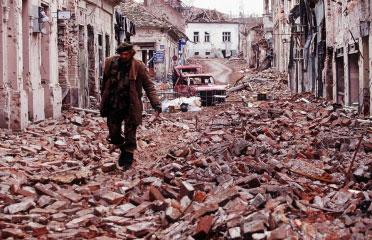 Vukovar, Kroatija, 1991
