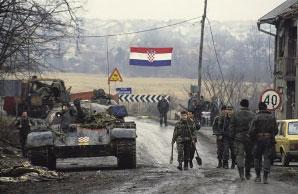 Krotų T-55A tankas