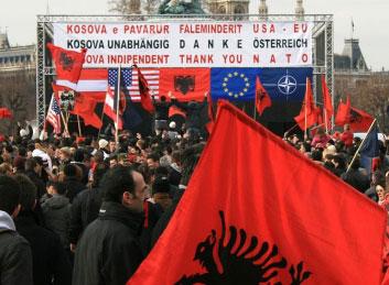Kosovo nepriklausomybės šventimas