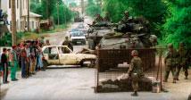 Amerikiečių patikros punktas Koretine, Kosovas
