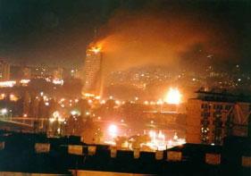 NATO Belgrado bombardavimas, 1999