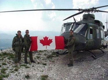 Kanados kareiviai Gola Pljesevica