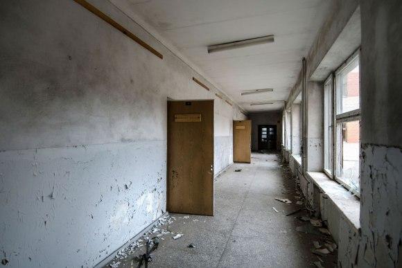 Koridorius ir kabinetai
