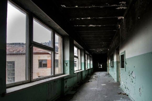 Išdegęs koridorius