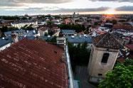 Senamiesčio stogai