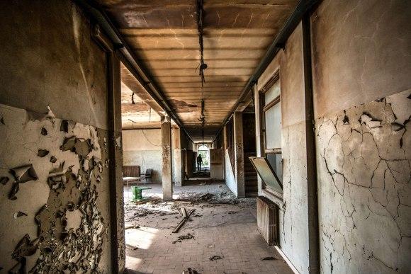 Apleista ligoninė - patalpa