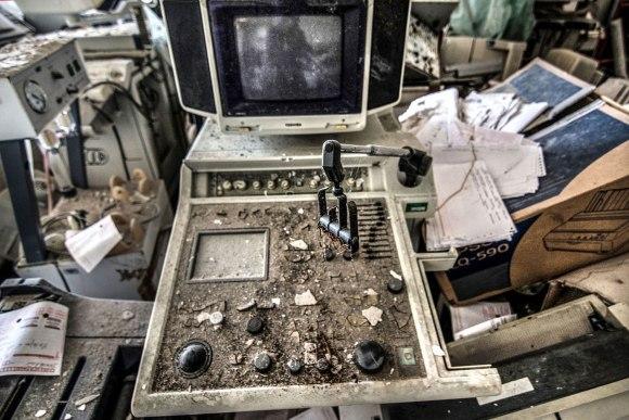 Apleista ligoninė - medicinos įranga
