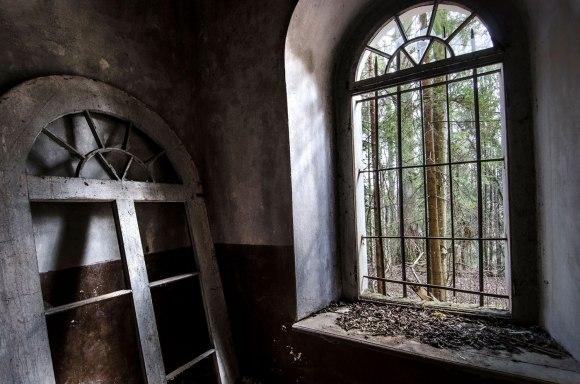 Išimtas langas