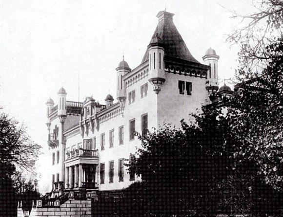 Kalkunes pilis XXa. pradžioje