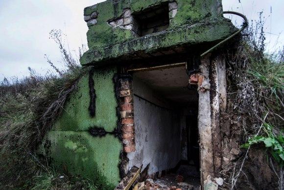 Įėjimas į slėptuvę