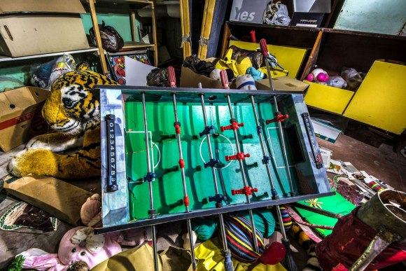 Kambarys su žaislais