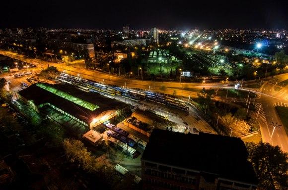 Troleibusų parkas