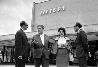 """Kino teatras """"Lietuva"""", centrinis valstybės archyvas"""