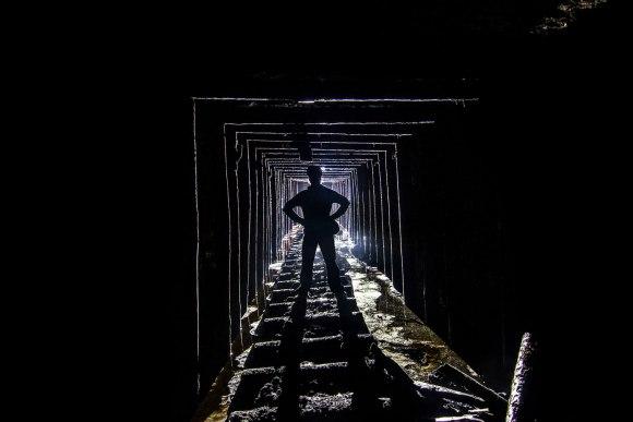 Tunelis nuo depo