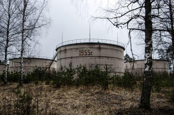 Cisternos su užrašais
