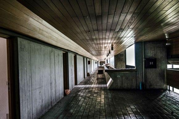 Trečio aukšto koridorius
