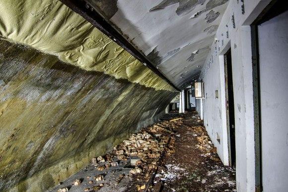 Bunkerio viršuje