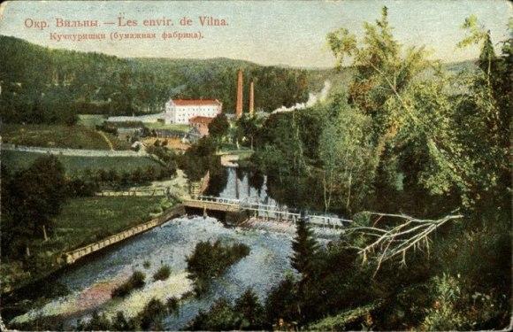 Popieriaus fabrikas 1905
