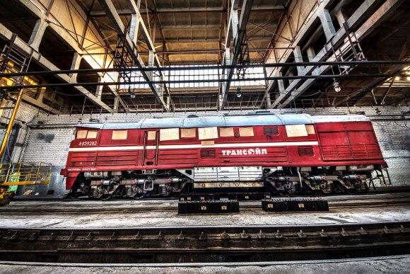 Uždengti lokomotyvo langai