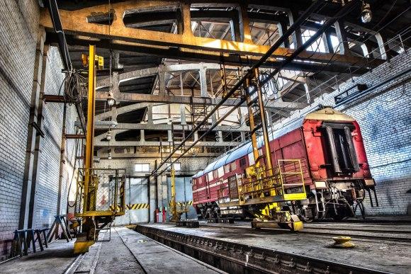 Ruošimas tvarkyti lokomotyvas