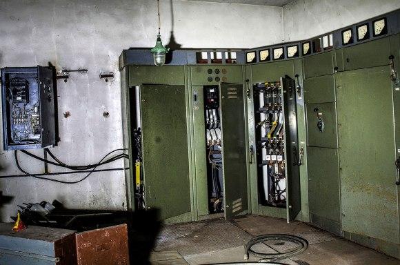 Elektros skydinė