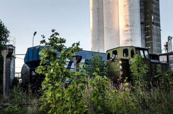 Naudojami traukiniai