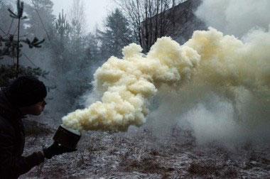Kaip kyla dūmai