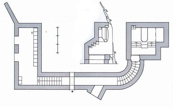 Pirmojo bunkerio planas