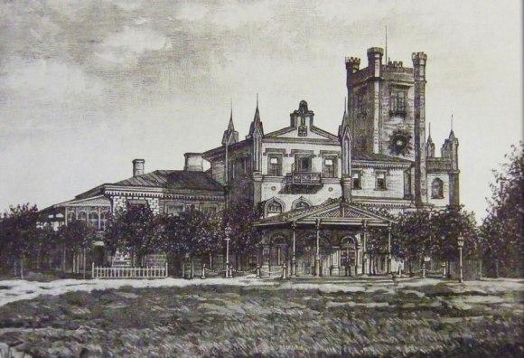 Rūmai prieš rekonstrukciją, 1887 m