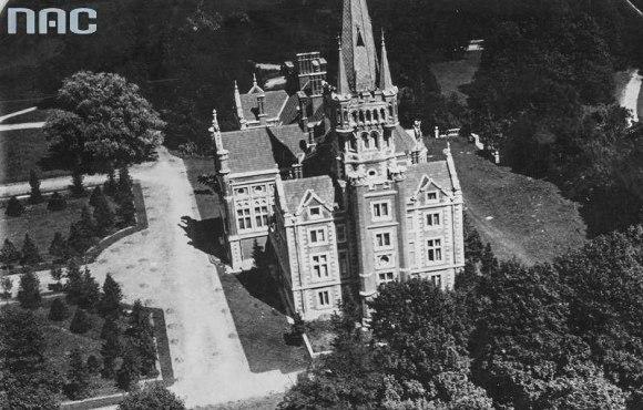 Lentvario rūmai 1918