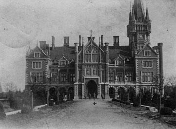 Dvaras po rekonstrukcijos, 1916
