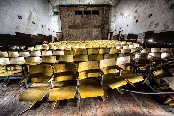 Kino salės kėdės