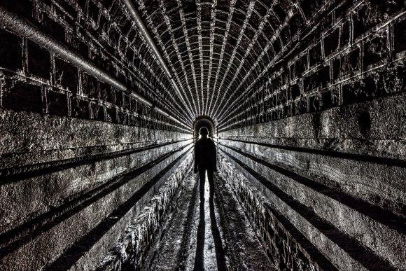 Mažino linija - tunelis ir mūras