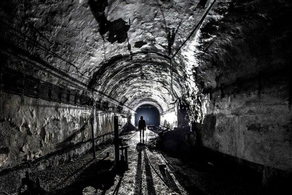 Mažino linija - pagrindinis tunelis