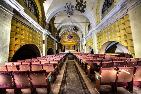 Bažnyčios pagrindinė salė