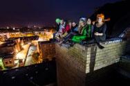 Sėdint ant stogo