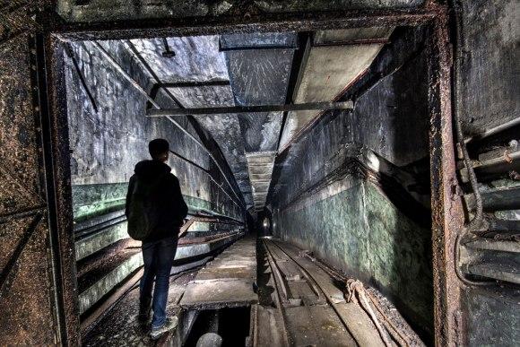 Mažino linija - įėjimo tunelis