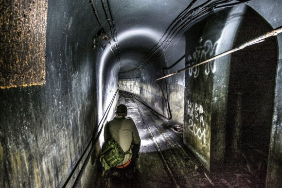 Mažino linija - siauras tunelis