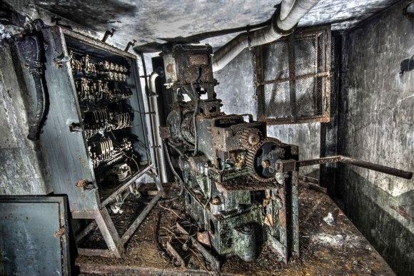 Mažino linija - lifto variklis