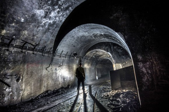 Mažino linija - tunelis su geležinkeliu