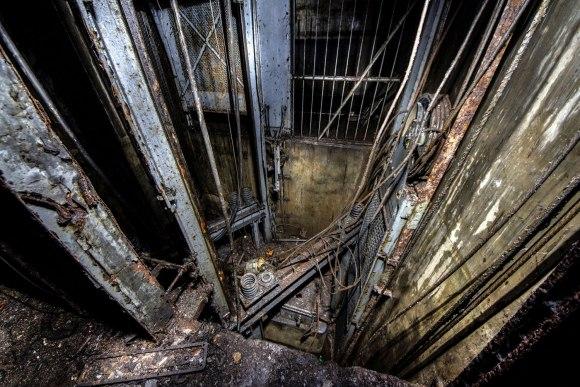 Mažino linija - supuvęs liftas