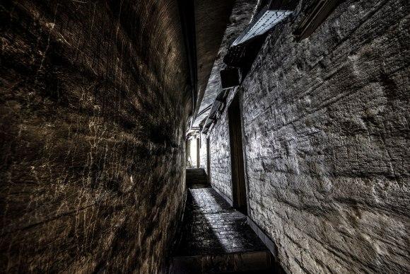 Mažino linija - vadavietės koridoriai