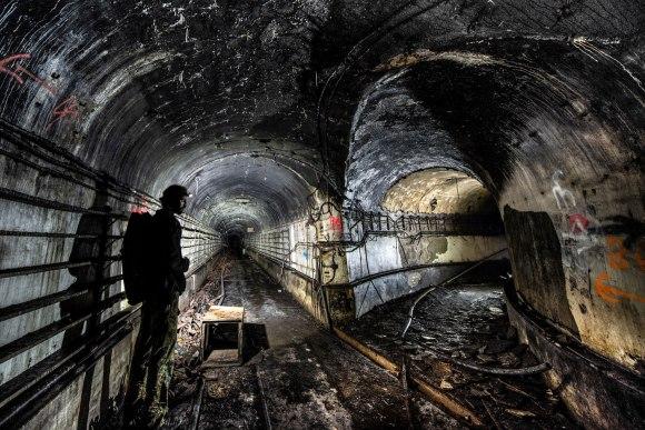 Mažino linija - tuneliai