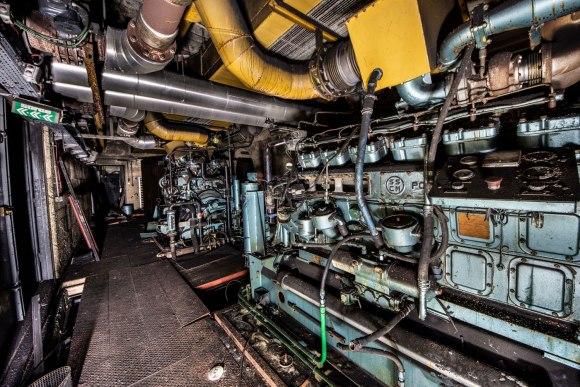 Mažino linija - palikti generatoriai