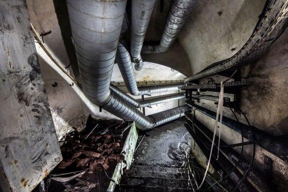 Mažino linija - ventiliacijos vamzdžiai