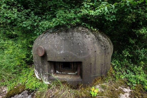 Mažino linija - GFM kupolo ambrazūra