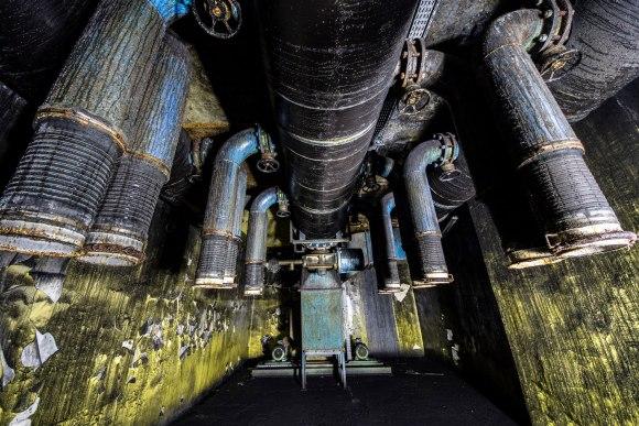 Mažino linija - ventiliacijos įrangos likučiai