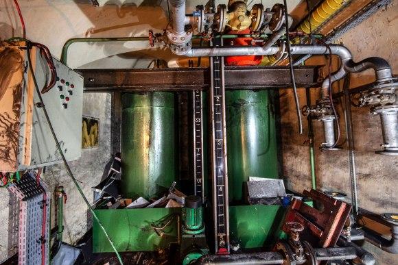 Mažino linija - degalų cisterna
