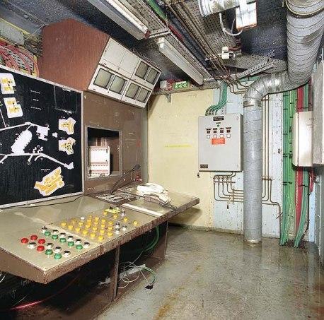 Mažino linija - komandinis punktas 2003-iais