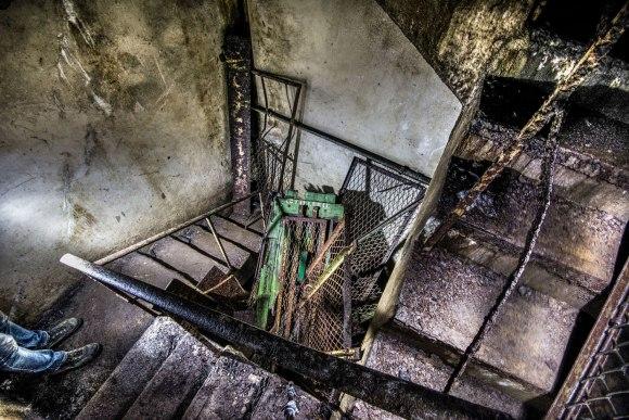 Išpjautas liftas